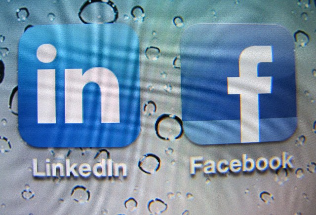 LinkedIn and Facebook