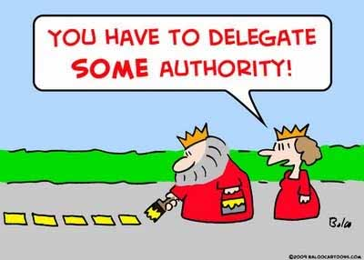 Delegating your job
