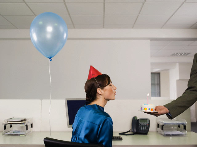 Surprise Birthday Party for Employee