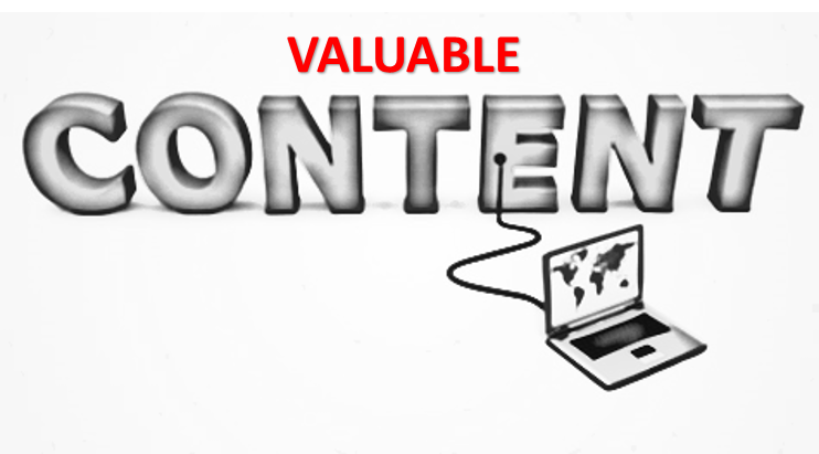 create valuable content for social media