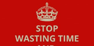 stop wasting time get things done