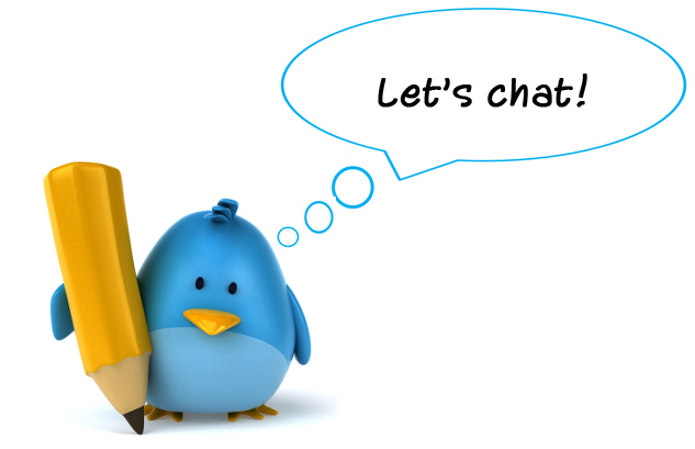 twitter chat can help