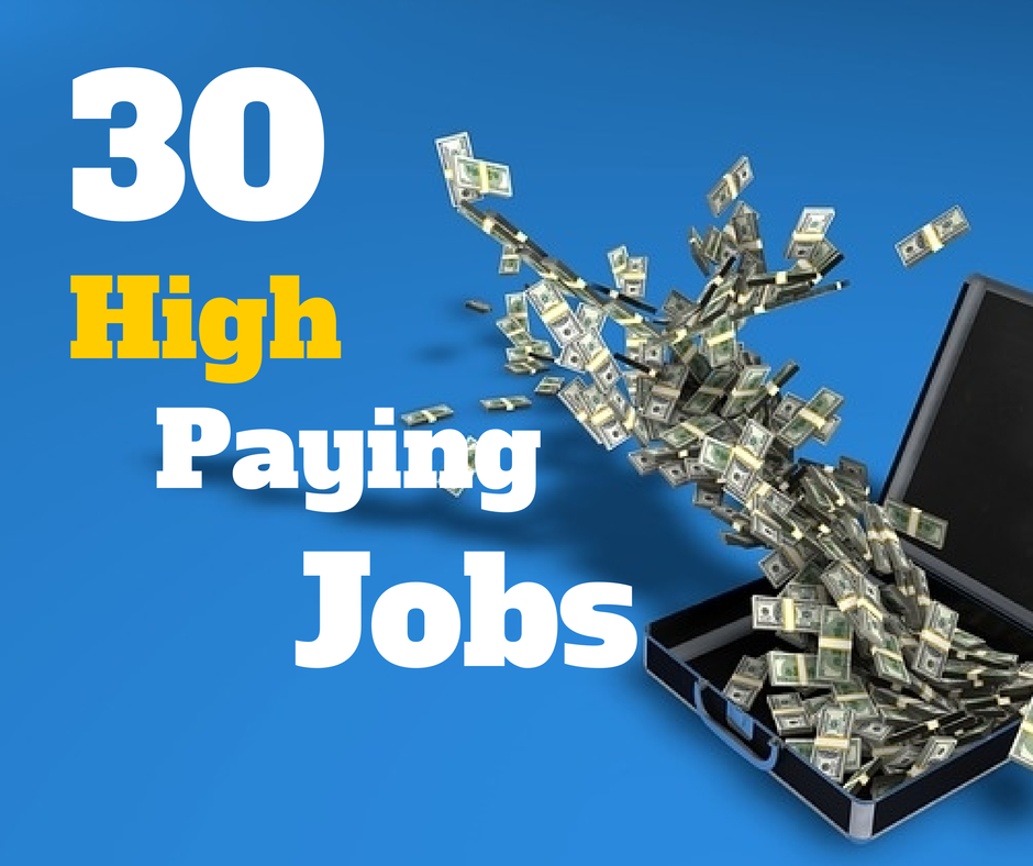 Top highest paying jobs