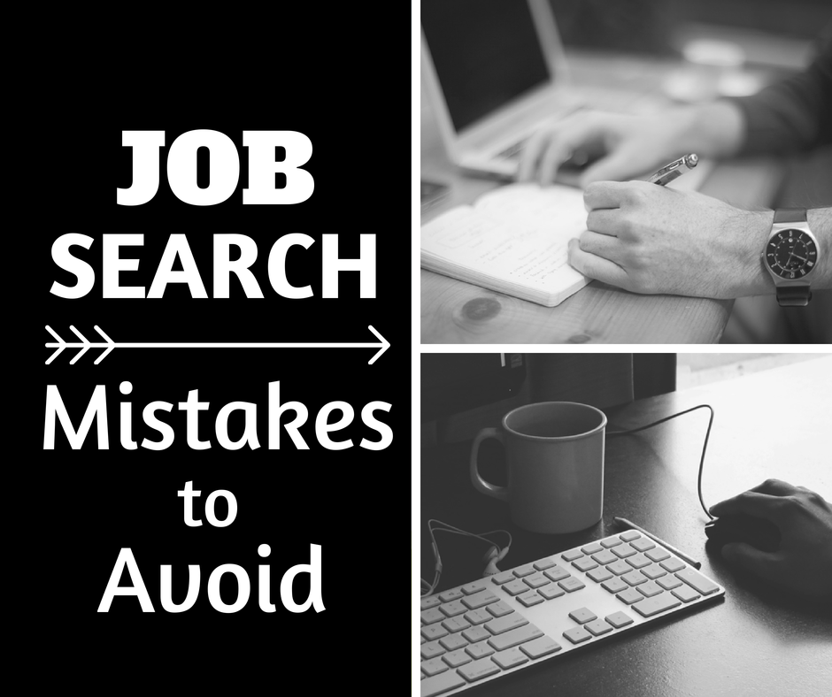 top 30 most common job search mistakes you can avoid