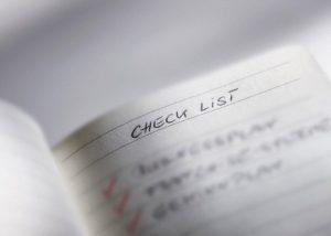 Prepare checklist before interview