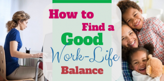 How to find a good work life balance