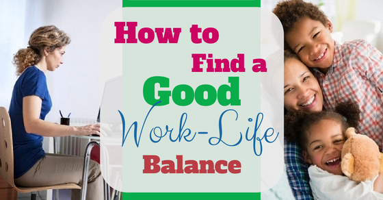 how to promote work life balance in the workplace