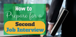 How to prepare for a second job interview