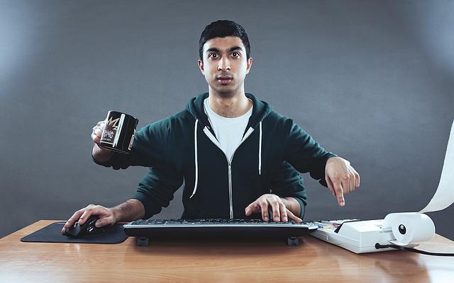multitasking at work