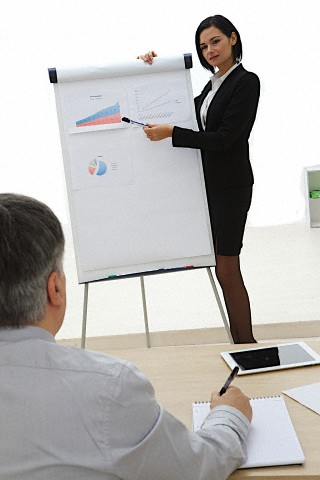 Slide show not required for small meetings