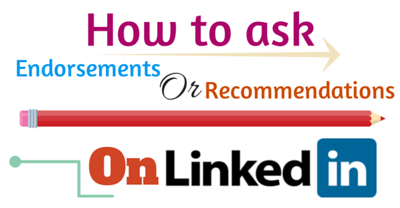 How to ask recommendations on linkedin