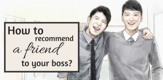 How to recommend a friend to your boss