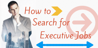 How to search for executive jobs