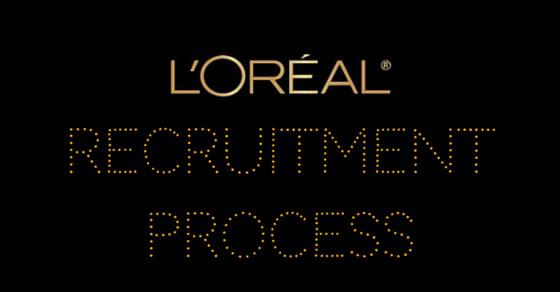 Loreal recruitment process
