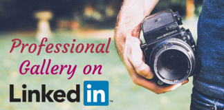 Professional gallery on linkedin