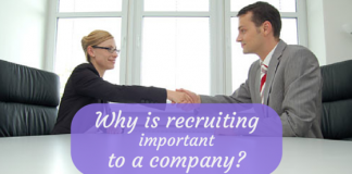 Why is recruiting important in an organisation