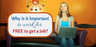 Why work for free to get job