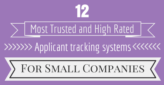 best application tracking systems for small companies