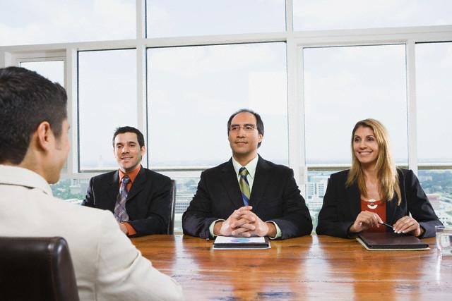 Interview team
