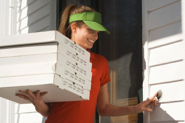 Pizza delivery jobs