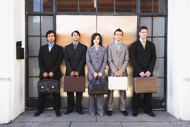 Selecting candidates for a job