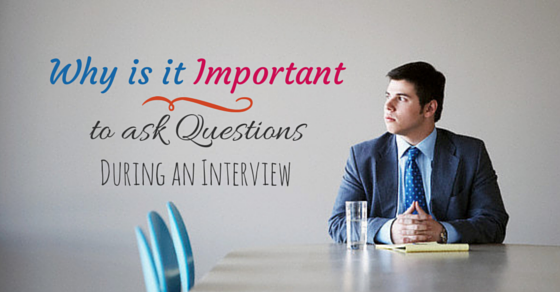 Ask questions during interview