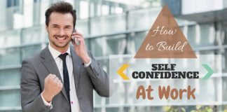Build Self Confidence at Work