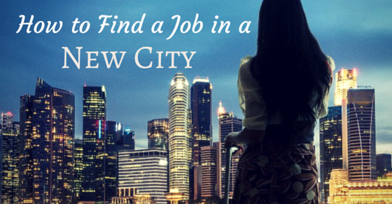 Find a job in new city