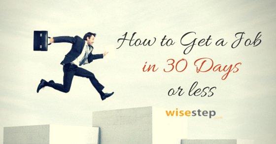 Get Job in 30 Days