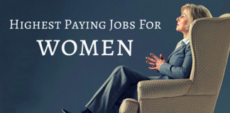 Highest Paying Jobs for women
