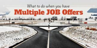 Multiple Job Offers