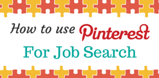 Pinterest for job search