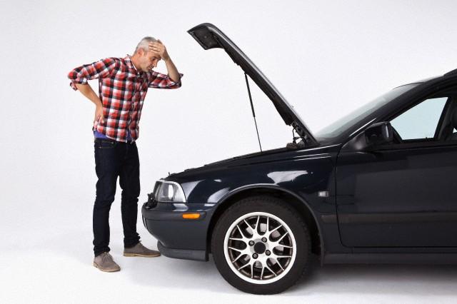 car broke