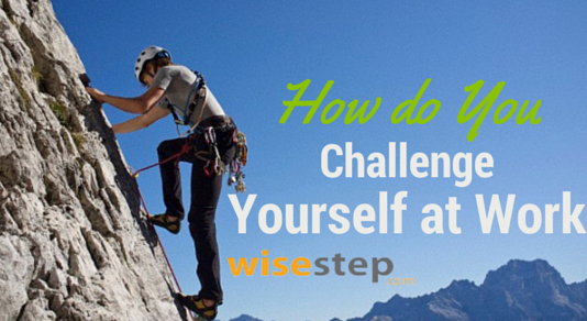 challenge yourself at work
