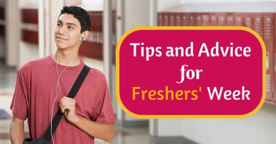 freshers week tips