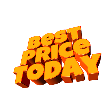 Best price today