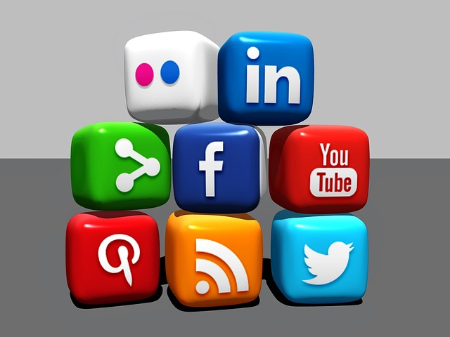 Checking social media