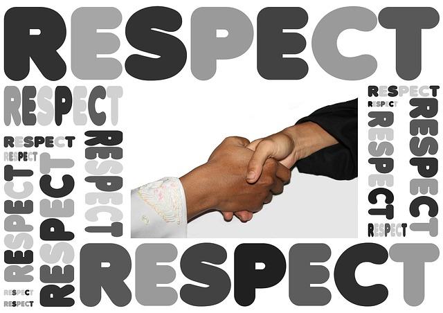 Earn respect
