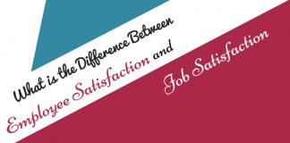 Employee satisfaction and Job Satisfaction
