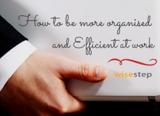 How to be organised and efficient