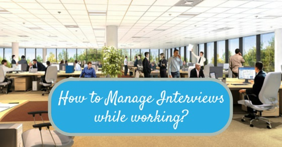 Managing interviews