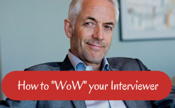 wow your interviewer
