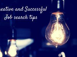 Creative Job search tips