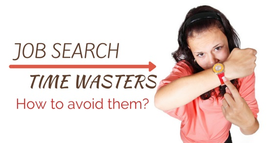 Job search time wasters
