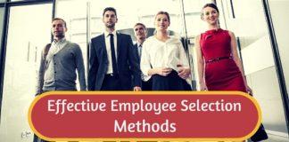 effective employee selection