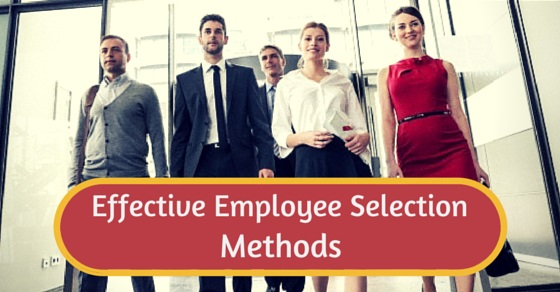 effective employee selection