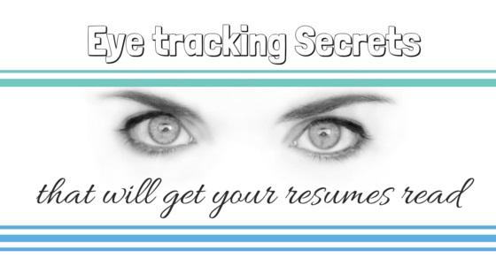 eye tracking resume