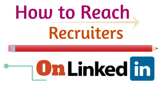 how to reach recruiters on linkedin