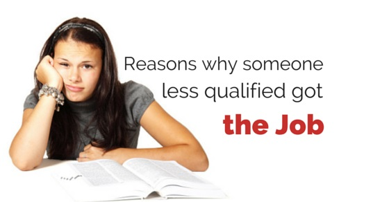 less qualified candidate hired