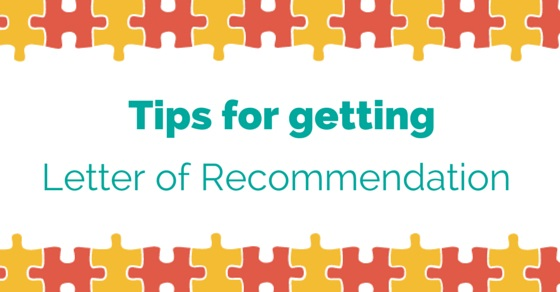 letters of recommendation tips